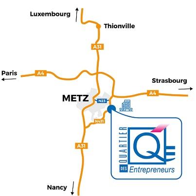 Le centre d'affaires à METZ: Moselle