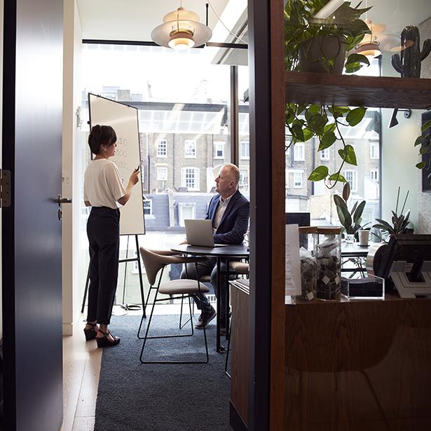 Centre d'affaires messin, 1 400 m² de surface de bureaux