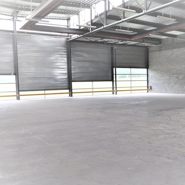 Location d'ateliers à Mulhouse-Pulversheim